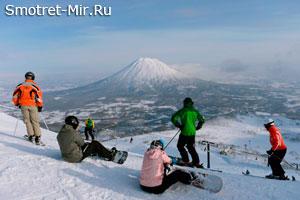 Нисеко - горнолыжный курорт