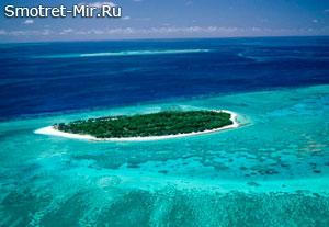 Происхождение Большого Барьерного рифа