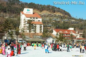 Отдых на горнолыжном курорте Yongpyong