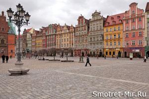 Вроцлав Польша Достопримечательности