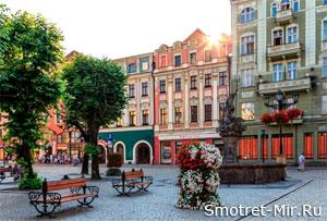 Город Вроцлав Польша фото