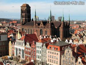 Мариацкий костел в Гданьске