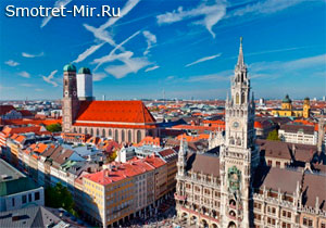 Площадь Мариенплац в Мюнхене
