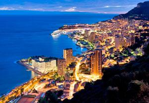 Набережная Монако