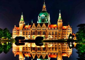 Немецкий город Ганновер
