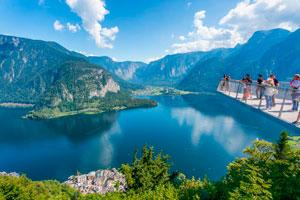 Природа Гальштата в Австрии