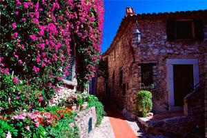 Деревня Эз - Лазурный берег Франции