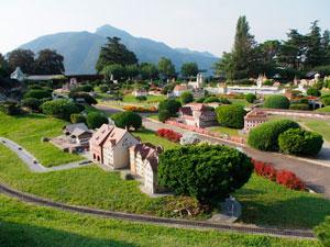 Парк Миниатюр в кантоне Тичино